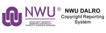 NWU DALRO Copyright Reporting System
